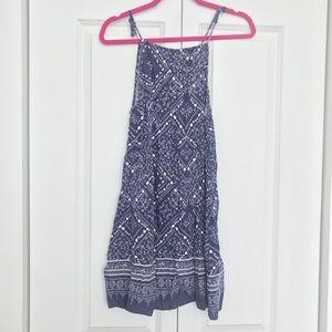 H&M Navy Bandana Dress - Size 10
